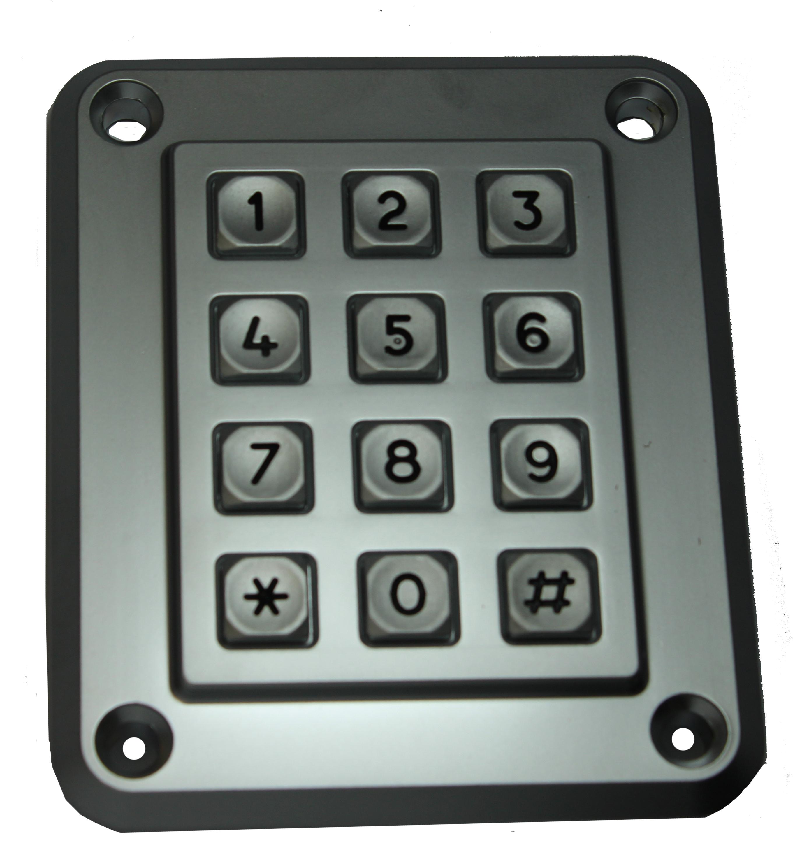 Keypad S Series 3X4 TEL | Access Innovators Keypad S Series 3X4 TEL