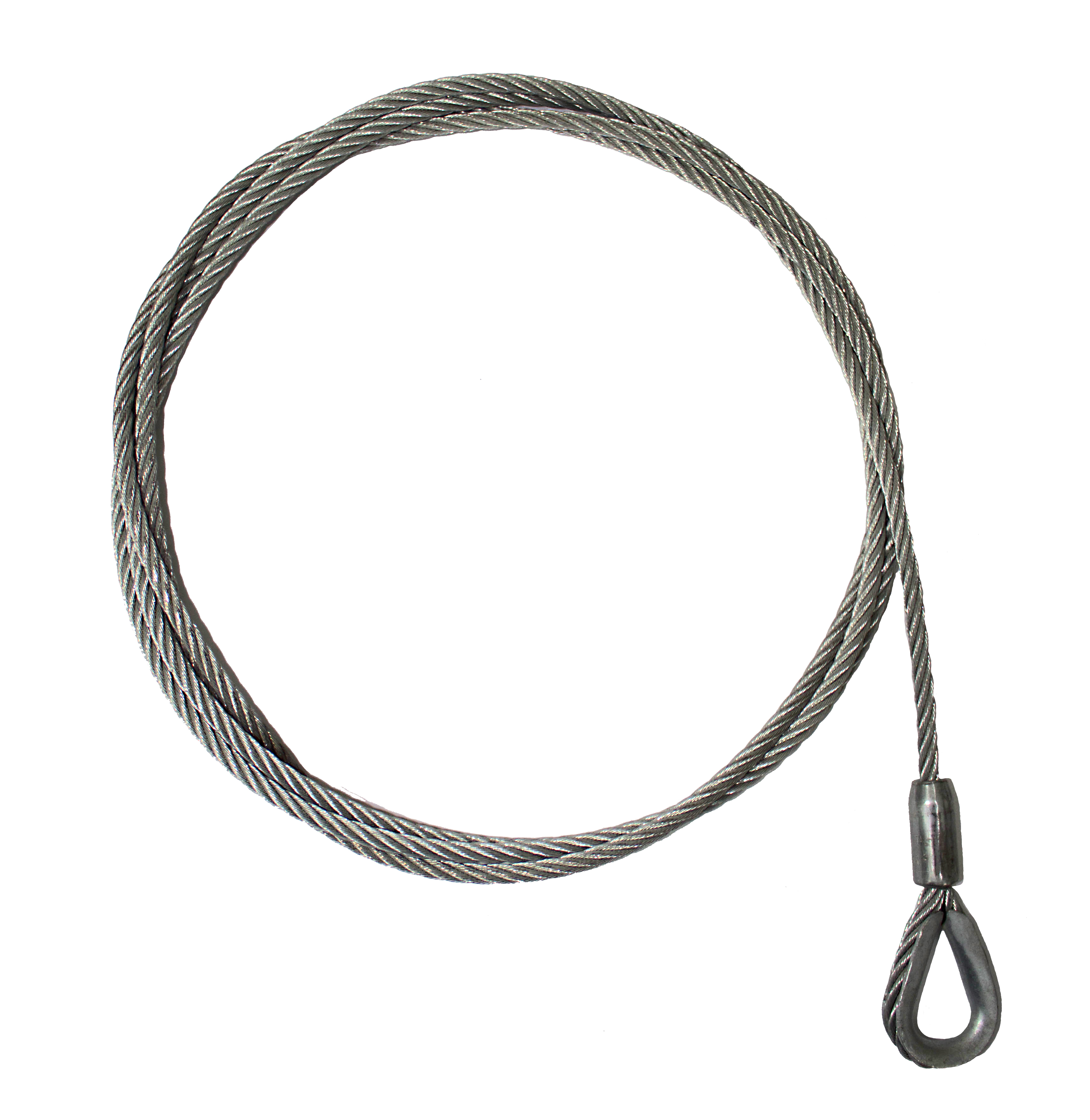 Finished Wire Rope Cut Length, 450\' 8.3mm, 5 x 26 | Access ...