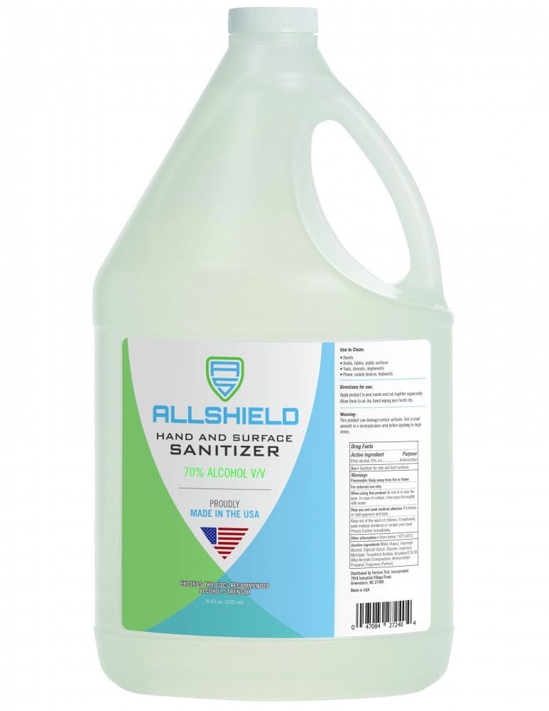 Surface Sanitizer Spray Gallon Refill