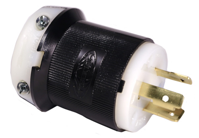 20A/250V Plug, 2 Pole, 3 Wire Ground
