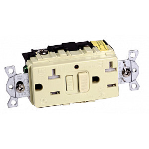 Hubbell 20A Weatherproof / Tamperproof Ground Fault Receptacle