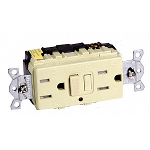 Hubbell 15A Weatherproof / Tamperproof Ground Fault Receptacle